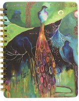 Flora Bird Spiral Notebook by Papaya!