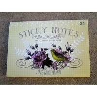 Floral love who you do Sticky Note Sets by Papaya!