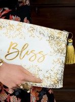 Foiled Flowers Bliss Large Accessory Pouch von Papaya