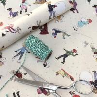 """Geschenkpapier von Belle & Boo mit dem Motiv """"Christmas"""" Cotton Poplin"""