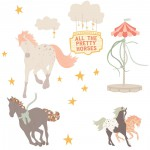 Pretty Horses Sticker