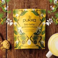 Goldene Kurkuma Pukka Bio Latte