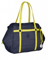Green Label Urban Bag denim blue