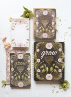 Grow  Sketch & Scribble Set Notizbuch von Papaya