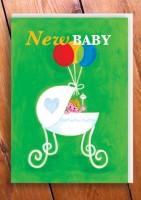 Grusskarte New Baby