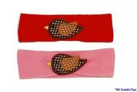 Haarband- Stirnband mit Vogel von Lollipop