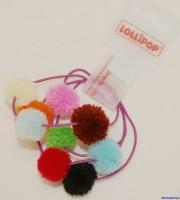 Haargummi mit Pompom von Lollipop