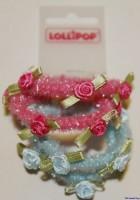 Haargummi mit Rosen von Lollipop