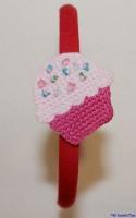 Haarreif mit Muffin von Lollipop