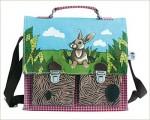 Handtasche mit lieblichen Häschen