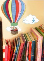 Hot Air Balloons Wall Sticker