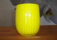 House doctor Zitronengelbe Vase