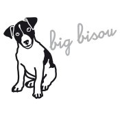 Iron-on Application Big bisou