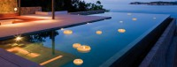 Italienische Candles Schwimmkerze
