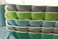Italienische Keramik Auflaufform L
