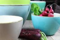 Italienische Keramik Salatschale