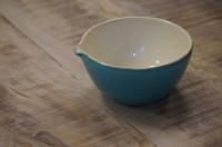 Italienische Keramik Schale mit Ausguss