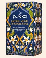 Kamille, Vanille & Manuka Honig Pukka Tee Bio, 20 Teebeutel