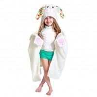 Kinder Kapuzenbadetuch - Bella das Häschen von Zoocchini