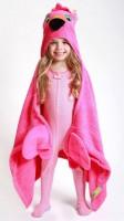 Kinder Kapuzenbadetuch - Franny der Flamingo von Zoocchini