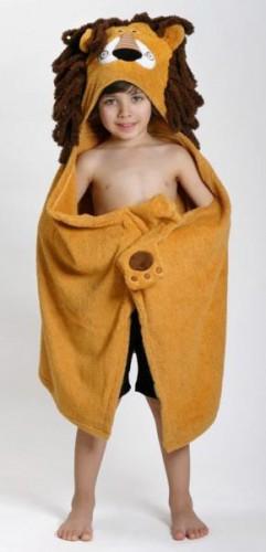 Hooded Towel Leo