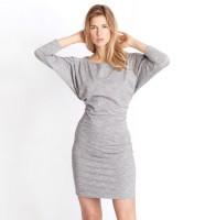 Kleid Milla, grey melange von Jaya organics