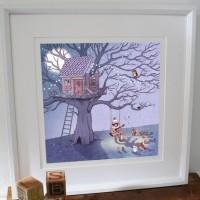 Kunstdruck Belle & Boo Belle's Lullaby
