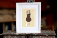 Kunstdruck Belle & Boo Engelsgeduld
