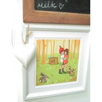 Kunstdruck Belle & Boo Let's Hug