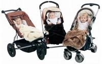 Kuschliger Einleger für Kinderwagen oder Tragegestell für Baby?s von minimink