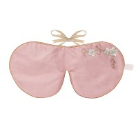 Lavender Eye Mask Rose Blossom