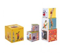 Le cubes empilables von Moulin Roty