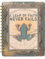 Leap of Faith Spiral Notebook by Papaya!