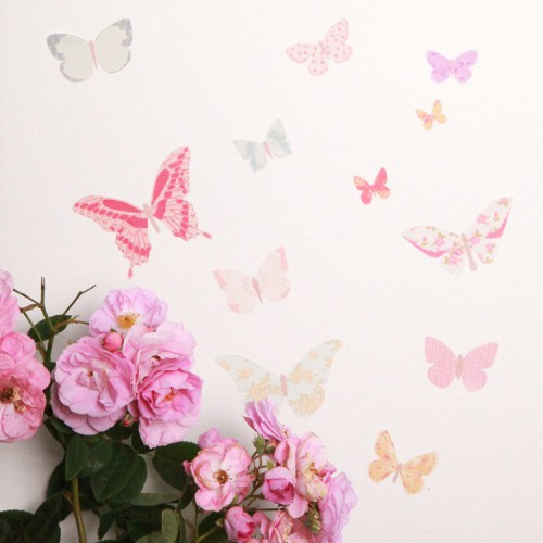 MINI Papillon Sticker