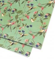 Marvellous Hummingbird Gift Wrap Geschenkpapier