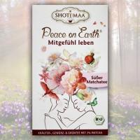 Mitgefühl leben Shoti Maa Peace on Earth Tee Bio, 16 Teebeutel