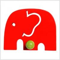 Model Elephant Red