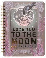 Moon & Back Spiral Notebook by Papaya!