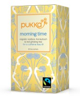 Morning Time, bio - Pukka Tee