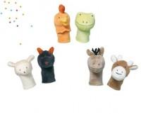 sebra gehaekelte fingerpuppen home animals. Black Bedroom Furniture Sets. Home Design Ideas