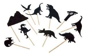 Moulin Roty Schattenspiele Dinosaurier