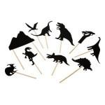 Schattenspiele Dinosaurier
