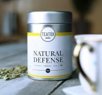 Natural Defense Bio Grüntee mit Ingwer von Teatox