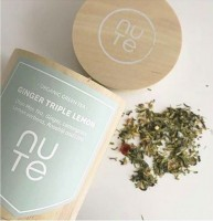 Nu Te Organic Ginger Triple Lemon Tea Tee