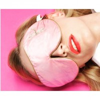 One Strap Eye Mask rose DRAGONFLY von Holistic Silk