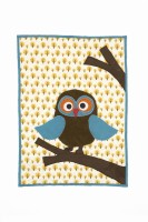 Owl Quilted Blanket