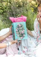 Papaya Bouquet For You Gift Bag
