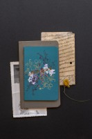 Papaya Notizbuch Jewel Flower Mini Book