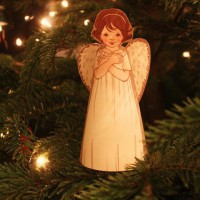 Paper Angel Decoration von Belle & Boo
