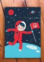 Postkarte  Ben Javens